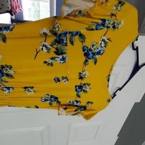 Loveappella Dresses - Womens tori knit maxi dress NEW